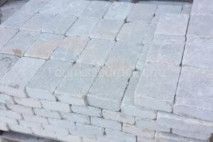 Pavé en pierre calcaire Ataija