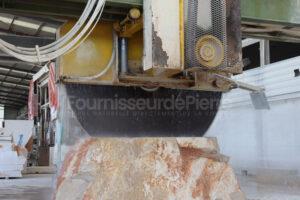 Production de façade en pierre calcaire