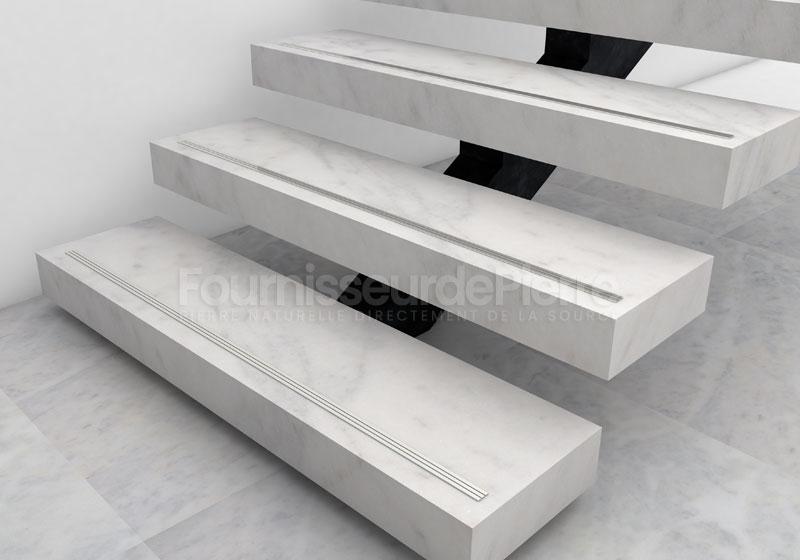 Escaliers en marbre Estremoz