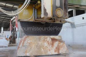 Production de pierre calcaire Branco do Mar