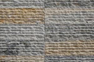 Revêtement en pierre calcaire Ataija Bleu mix